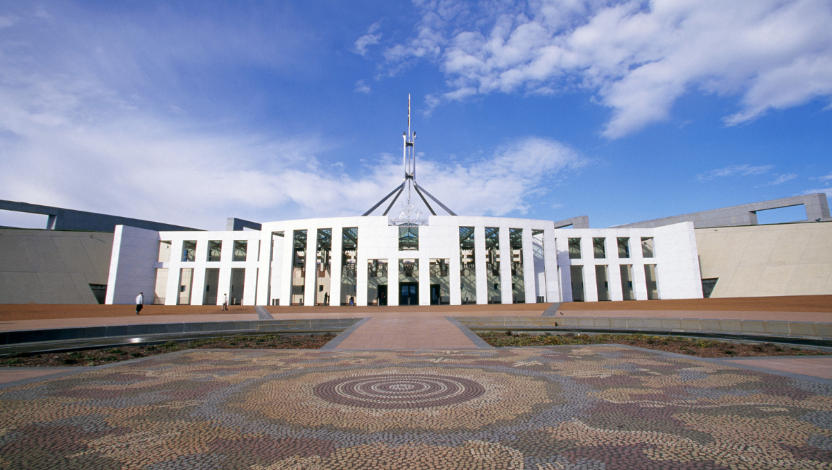 Image of Parliament House, Canberra
